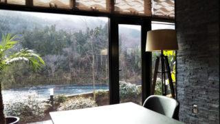 花湯別邸 荒川の見えるレストラン