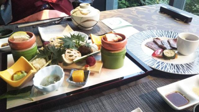 熱海TENSUIの和食懐石(酒菜)