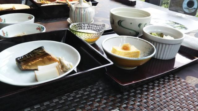 熱海TENSUIの朝食