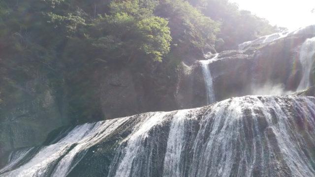 袋田の滝第1観瀑台からの眺め