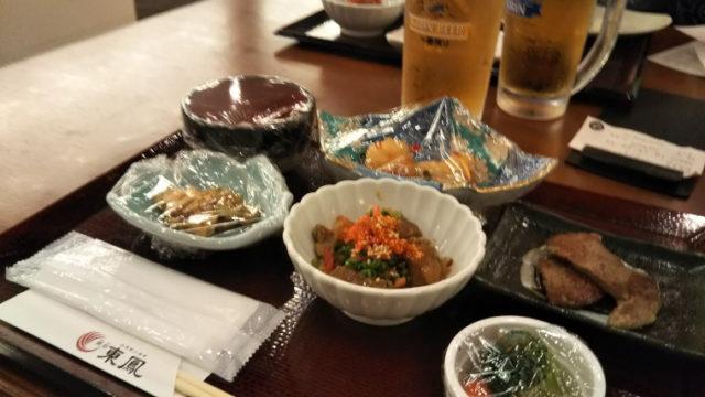 御宿東鳳の夕食バイキング